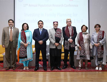 Nov 25, 2016: Inaugural session of the 17th Annual Population Research Conference  held at IBA-Karachi  in collaboration with  Population Association of Pakistan
