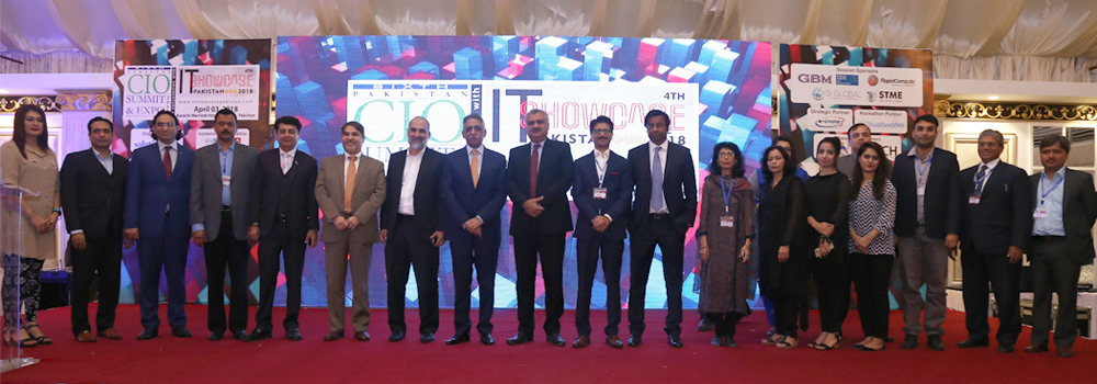 IBA-CICT Participation as Exclusive Academic Strategic Partner in 6th Pakistan CIO Summit & 4th IT Showcase Pakistan 2018