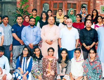 Aug 9-12,  2017: Akhuwat Residential Social Immersion Program conducted by AISEM for THP, IBA Karachi