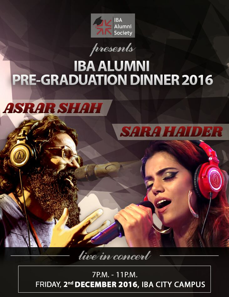 Alumni Society Graduation Dinner for Class of 2016