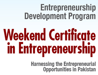 IBA-CED Weekend Certificate in Entrepreneurship