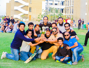 Mar 11, 2017: A cricket tournament was held among all the batches of MBA (Executive) Program