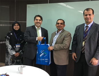 Dr. Farrukh Iqbal meetings with Senior Official at Kaula Lumpur, Malaysia