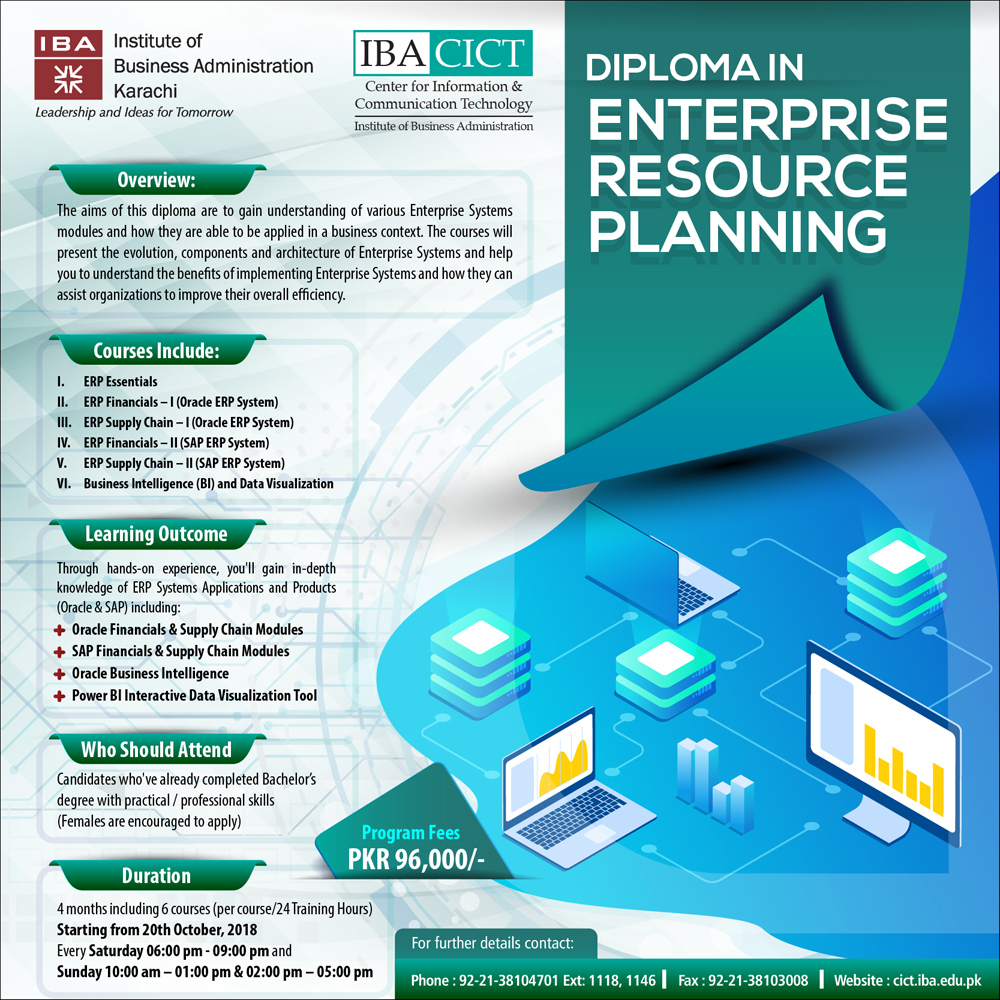 Erp Site Map: Diploma In Enterprise Resource Planning