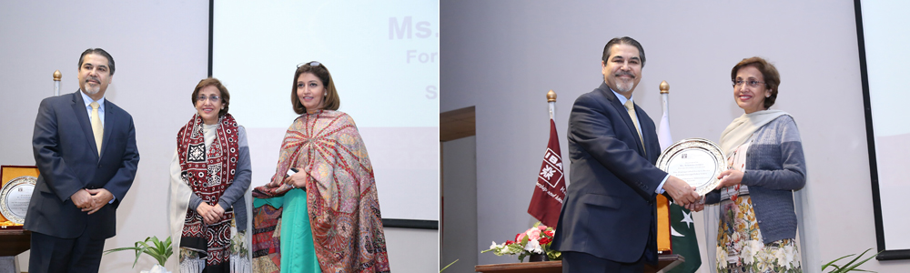 "Distinguished Lecture on ""Pakistan's Foreign Policy Issues"" by the Foreign Secretary of Pakistan Ms. Tehmina Janjua"
