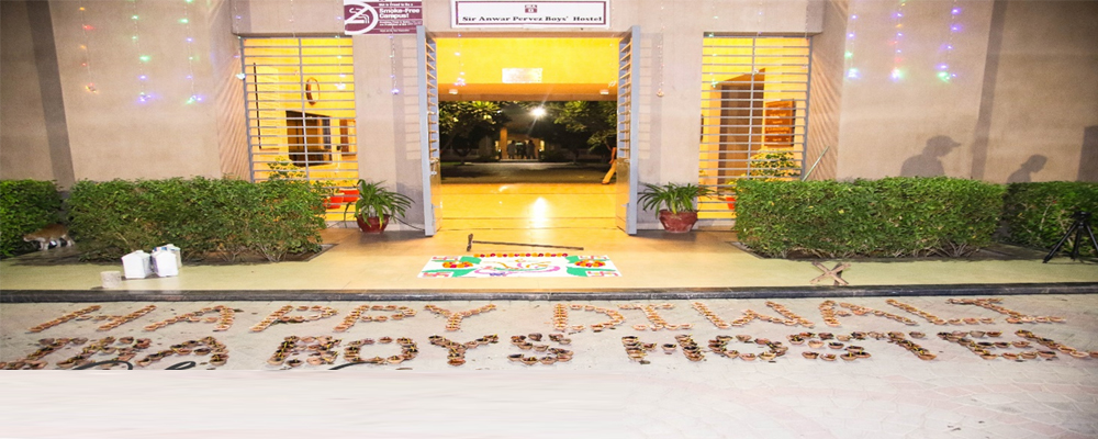 Diwali Celebrations at IBA Boys Hostel, Karachi