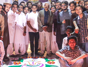 Nov 4, 2017: Diwali Celebrations at IBA Boys Hostel, Karachi