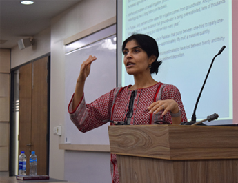 Mar 4, 2019: Dr. Erum Sattar speaks on 'Pakistan's Lifeline: Management and Regulations of Indus Water'