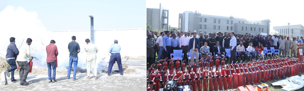 Awareness / Fire Safety & Emergency Response Training at IBA Main Campus