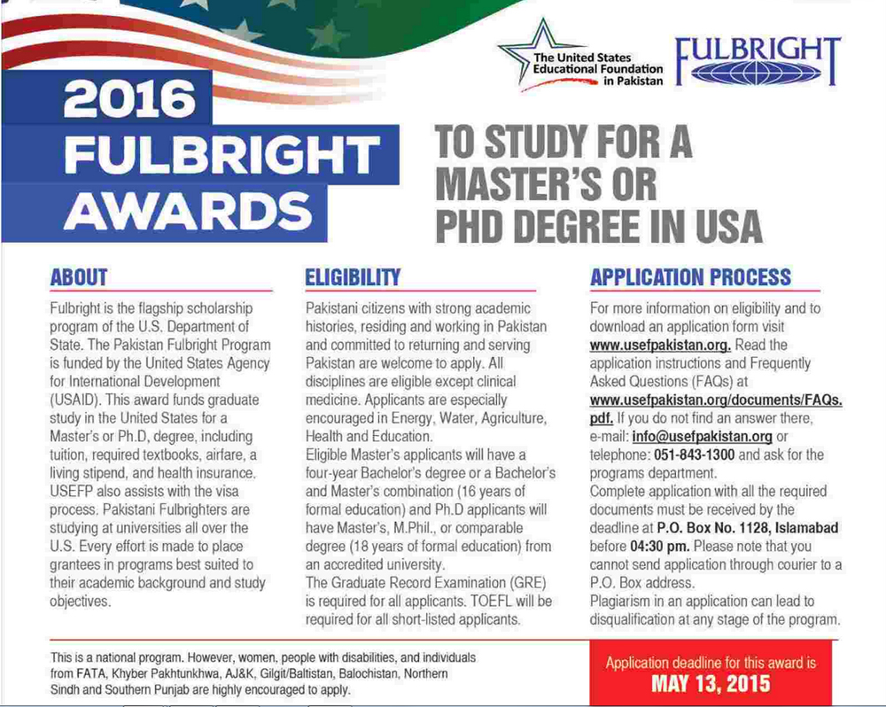 the fulbright program essay