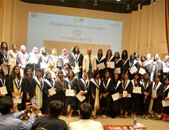 graduation ceremony flagship programs