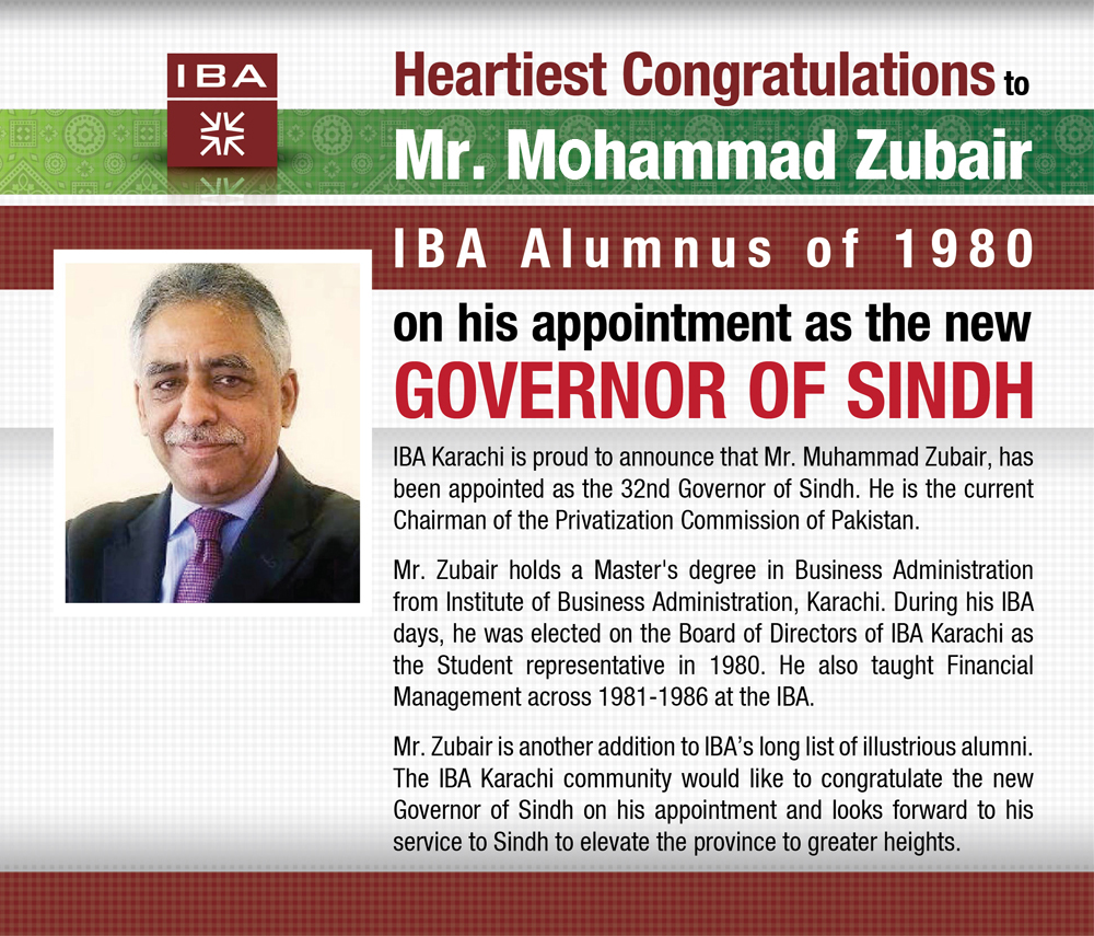 Heartiest Congratulation to Mr. Mohammad Zubair