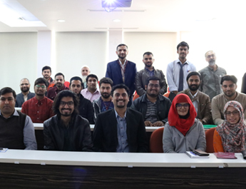 Jan 9, 2019: IBA CED organized an information session on DICE Pakistan Fellowship Program with SoL