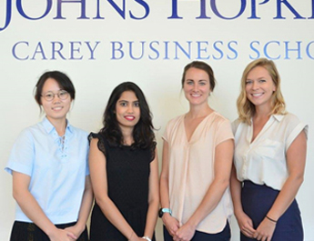 Aug 2, 2018: IBA graduate makes history by speaking at United States' John Hopkins University's business school's graduation ceremony