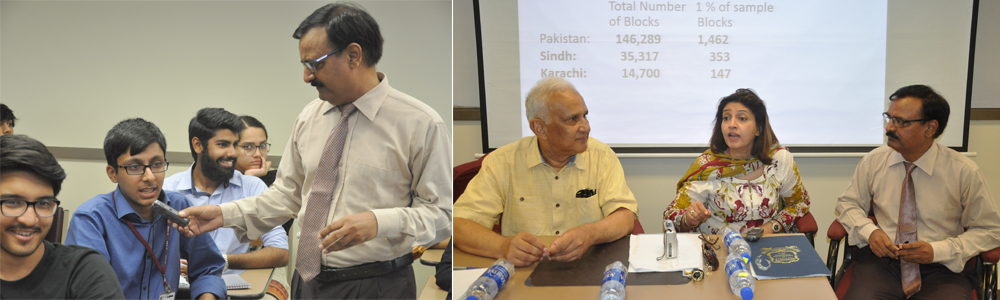 IBA Held a Jang Forum on Karachi's Population and Census Results