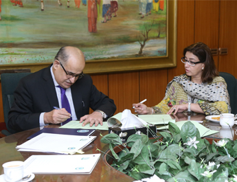 IBA Karachi and TDAP sign a contract to develop Pakistani SMEs