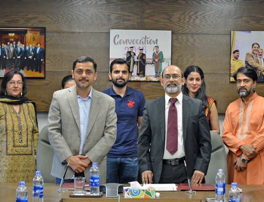 IBA Karachi and Unilever Pakistan ink MoU