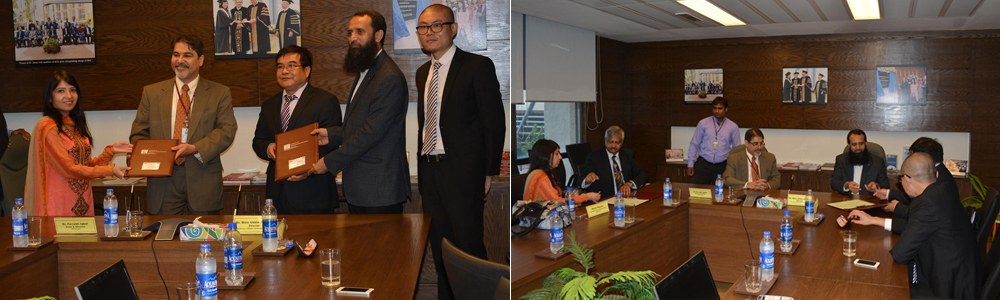 IBA Signs MoU with Confucius Institute, University of Karachi