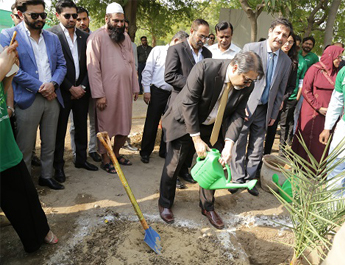 Feb 13, 2019: IBA Tree Plantation Drive