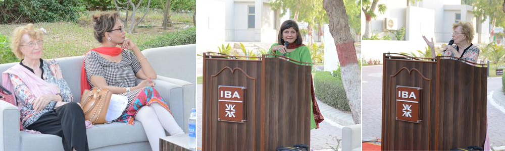 May 16, 2017: Inauguration Ceremony of Tabinda Chinoy's Reel Artwork at IBA Karachi