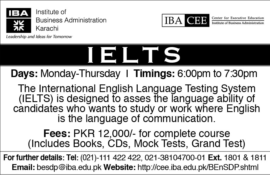 InternationalEnglishLanguageTestingSystem