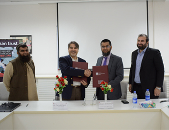 May 9, 2018: MoU between Ihsan Trust & IBA-CED