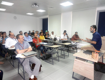 July 11, 2015: EMBA Guest Speaker Session on 'Entrepreneurship' by Mr Mutahir Mehmood
