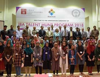 May 30, 2018: Orientation Ceremony IBA Talent Hunt Program 2018
