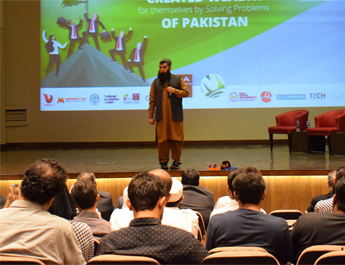 Sept 13, 2018: IBA AMAN CED organized Shepherd's Pie Karachi Season 4 at G&T Auditorium IBA Karachi in collaboration with Jumpstart Pakistan