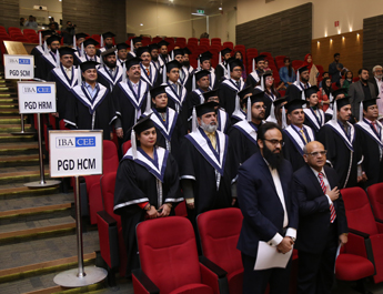Dec 16, 2017: The Center of Executive Education (CEE), IBA, Karachi PGD Program - Convocation 2017