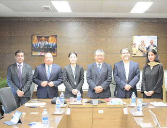 The IBA and Sumitomo Corporation sign a MoU