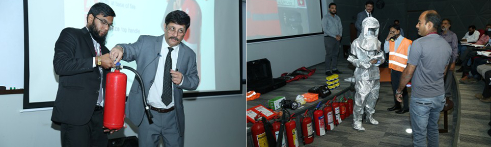 Training on ERT Concepts, Rescue & Survival and Fire Emergency