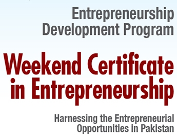 Weekend Certificate in Entrepreneurship