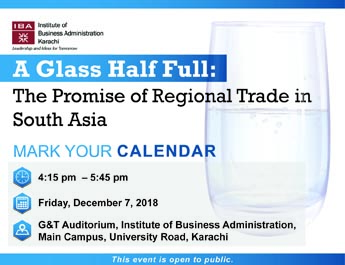 A Glass Half Full: The Promise of Regional Trade in South Asia