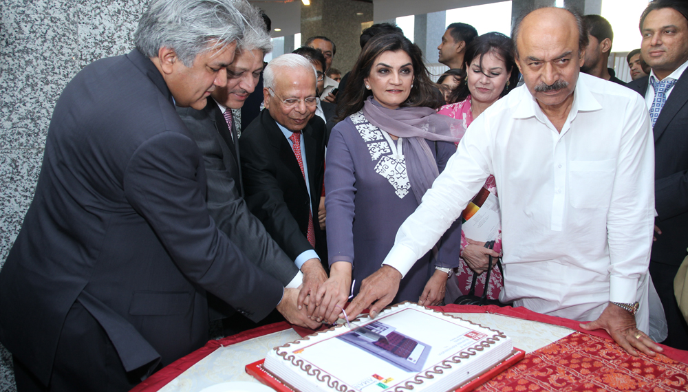 Inauguration Ceremony of Aman Tower at IBA City Campus by Governor Sindh Dr. Ishratul Ebad