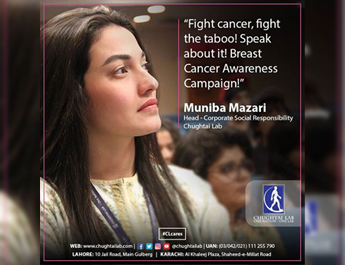 IBA Karachi hosted Breast Cancer Awareness Seminar at Students Center