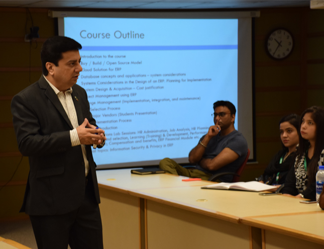 Batch-02 of Diploma in ERP started at IBA City Campus