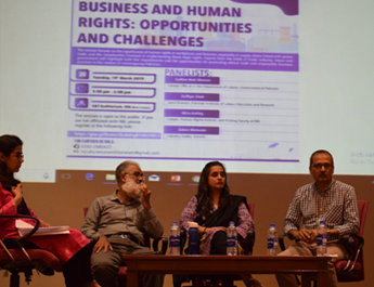 Business and Human Rights: Opportunities and Challenges session held at IBA, Karachi