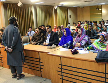 IBA CED conducted a workshop in UAJK