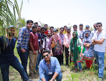 May 27, 2017: CIE participants Visited Agricultural farm