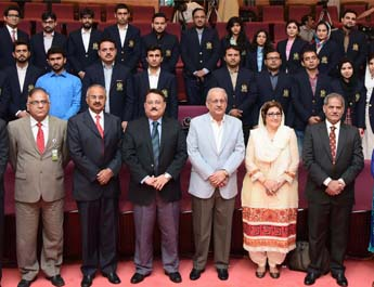 Oct 10, 2016: Training of 'Clerks of Parliament' A collaboration of IBA, Karachi with Senate of Pakistan & Pakistan Institute of Parliamentary Services (PIPS)