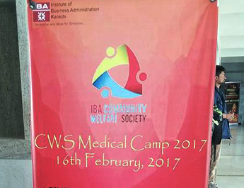 Feb 16, 2017: Community Welfare Society (CWS) conducted its first ever MEDICAL CAMP