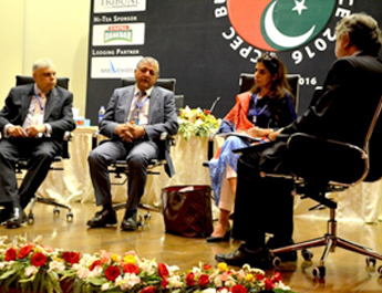 Mar 17, 2016: IBA CPEC Business Conference held at J&T Auditorium, IBA Karachi