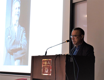 May 07, 2018: A Distinguished Lecture Series on Iqbal as History, Iqbal as commodity by Dr. Noman ul Haq