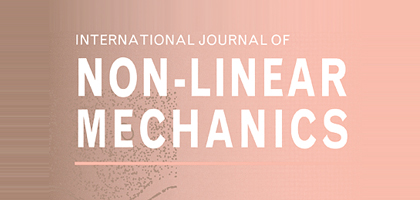 Assistant Professor Mathematical Sciences Dr. Abdul Majid's article was published in the International Journal of Non-Linear Mechanics