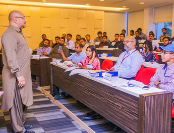 May 19-20, 2017: Workshop at IBA CED's Certificate Program conducted by Syed Hussain Haider