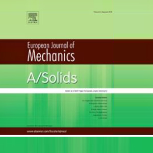 Dr. Abdul Majid and Mr. Sami Siddiqui co-authored paper in the European Journal of Mechanics - A/Solids