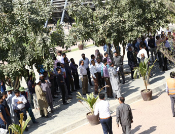 Nov 1, 2017: Emergency Evacuation Drill at the Fauji Foundation Building