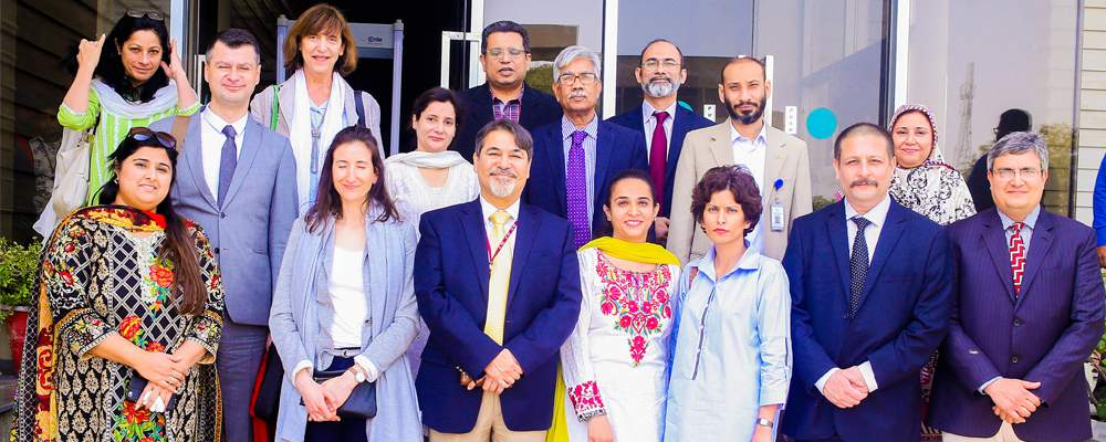 A French delegation visited IBA as part of the bigger delegation invited by HEC