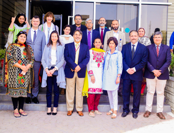 Mar 13, 2017: A French delegation visited IBA as part of the bigger delegation invited by HEC
